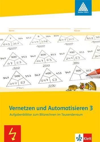 9783122010188: Vernetzen und Automatisieren. Schülerarbeitsheft 3. Schuljahr