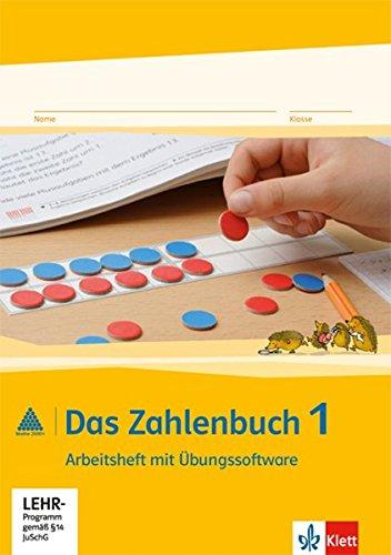 9783122016111: Das Zahlenbuch. Arbeitsheft mit CD-ROM 1. Schuljahr. Neubearbeitung