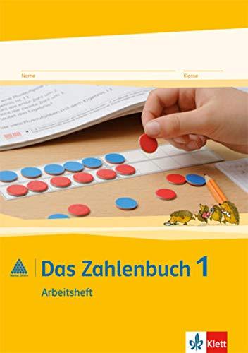 9783122016128: Das Zahlenbuch. Arbeitsheft 1. Schuljahr. Neubearbeitung