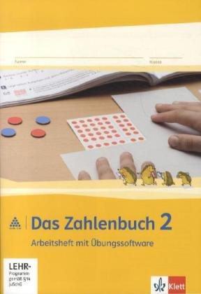 9783122016210: Das Zahlenbuch. Arbeitsheft mit CD-ROM 2. Schuljahr. Neubearbeitung