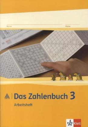 9783122016326: Das Zahlenbuch. 3.Schuljahr. Arbeitsheft. Neubearbeitung