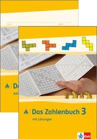 9783122016364: Das Zahlenbuch. Neubearbeitung. Lösungen zu Schülerbuch und Arbeitsheft 3. Schuljahr