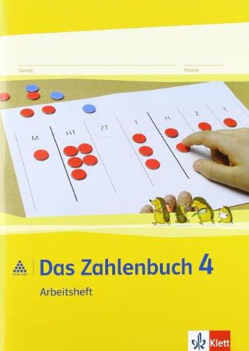 9783122016425: Das Zahlenbuch. 4.Schuljahr. Arbeitsheft. Neubearbeitung