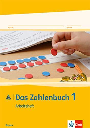 9783122016623: Das Zahlenbuch. 1.Schuljahr. Arbeitsheft. Bayern