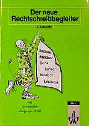 9783122161415: Der neue Rechtschreibbegleiter, neue Rechtschreibung, 4. Schuljahr