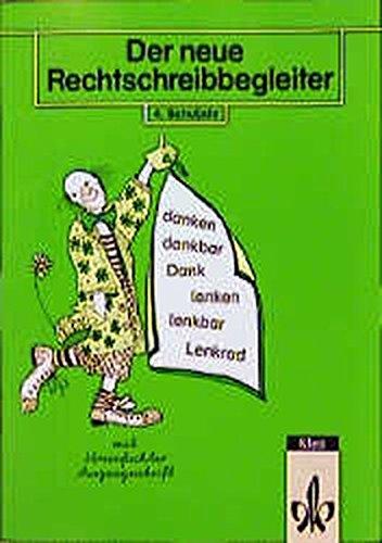 9783122161422: Der neue Rechtschreibbegleiter, neue Rechtschreibung, 4. Schuljahr