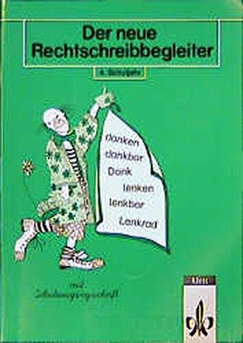 9783122161439: Der neue Rechtschreibbegleiter, neue Rechtschreibung, 4. Schuljahr