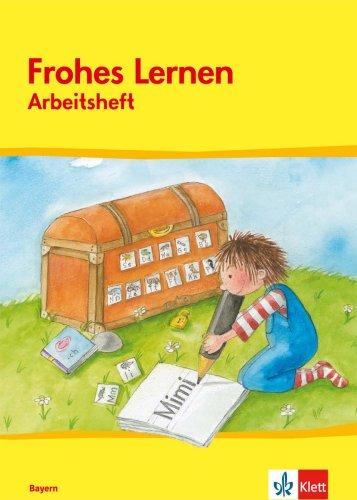 9783122302511: Frohes Lernen. Arbeitsheft Druckschrift. Neubearbeitung. Bayern