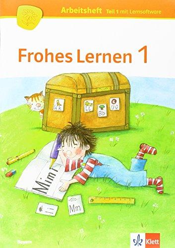 9783122312640: Frohes Lernen Fibel. Arbeitshefte Druckschrift (Teil A-C) mit CD-ROM 1. Schuljahr