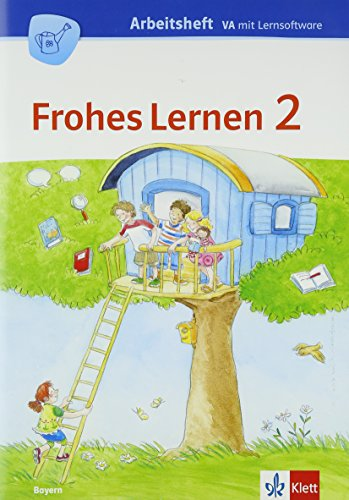9783122312923: FROHES LERNEN Sprachbuch. Arbeitsheft mit CD-ROM 2. Schuljahr