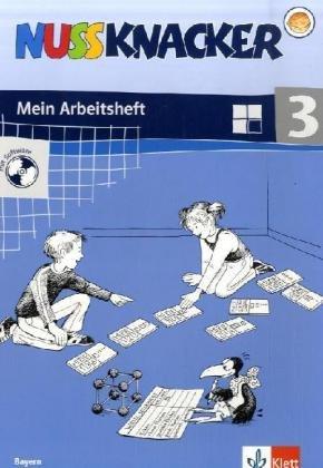 9783122355319: Nussknacker 3. Mein Mathematikbuch. Arbeitsheft mit CD-ROM. Bayern