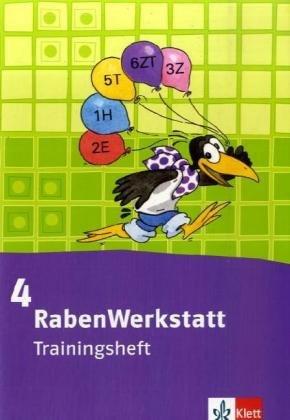 9783122365158: Rabenwerkstatt. Trainingsheft 4. Schuljahr