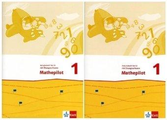 9783122366124: Mathepilot. Arbeitsheft mit Übungssoftware zum Download 1. Schuljahr