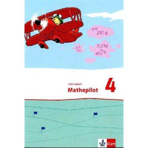 9783122366414: Mathepilot. Schülerbuch 4. Schuljahr