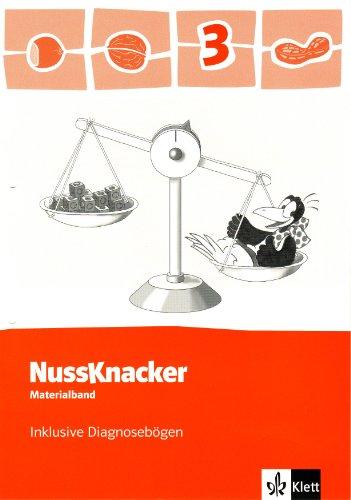 9783122425395: Der Nussknacker. Materialband inklusive Diagnosebögen und CD-ROM 3. Schuljahr: Ausgabe für Hamburg, Bremen, Hessen, Baden-Württemberg, Berlin. Sachsen-Anhalt, Thüringen