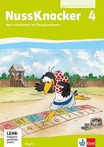 9783122455415: Der Nussknacker. Arbeitsheft mit CD-ROM 4. Schuljahr. Ausgabe für Bayern