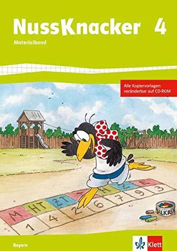 9783122455491: Der Nussknacker. Materialband mit CD-ROM 4. Schuljahr. Ausgabe für Bayern