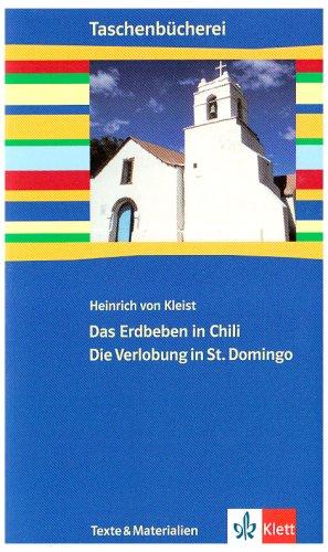 9783122626600: Das Erdbeben in Chili / Die Verlobung in St. Domingo. Mit Materialien