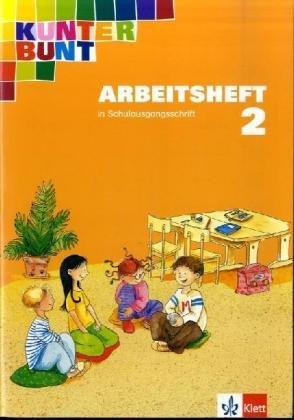 Kunterbunt. Unser Sprachbuch für Klasse 2. Arbeitsheft