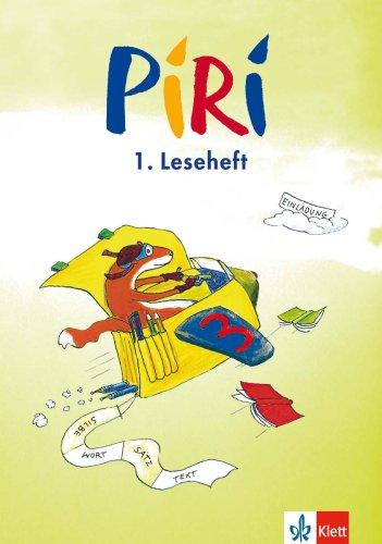 9783122704643: Piri. Arbeitsheft zum Sprach-Lese-Buch 2. Schuljahr. Lesehefte 4 - 6