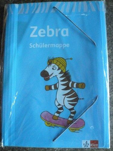 Zebra. Neubearbeitung. Schülermappe 1.-4. Schuljahr: Schülermappe mit Stundenplanfach, 4 ...