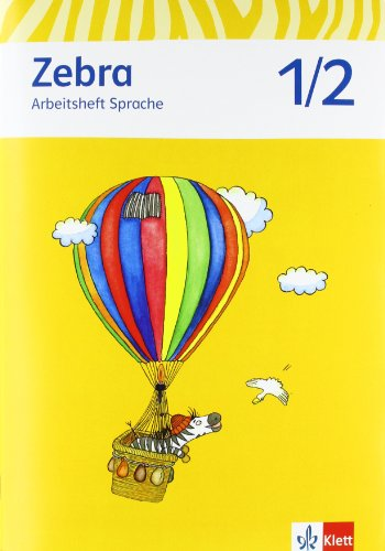 9783122706609: Zebra. Arbeitsheft Sprache 1./2. Schuljahr. Neubearbeitung