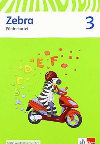 9783122706760: Zebra. Förderkartei 3. Schuljahr