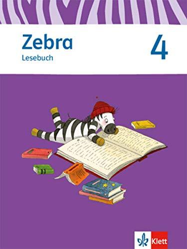 9783122706838: Zebra 4. Lesebuch 4. Schuljahr