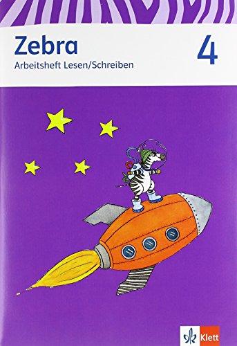 9783122706883: Zebra. Paket (Arbeitsheft Sprache und Arbeitsheft Lesen und Schreiben) 4. Schuljahr. Neubearbeitung