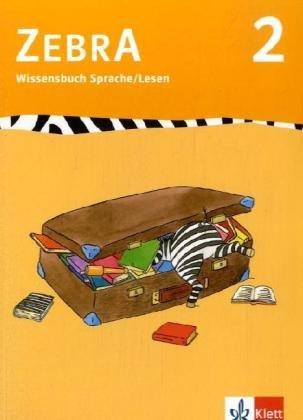 9783122707040: Zebra 2 Wissensbuch: Anfangsunterricht
