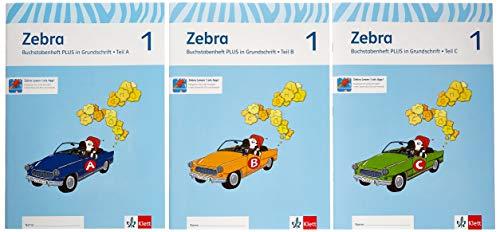 9783122707286: Zebra. Neubearbeitung. Buchstabenheft plus in Grundschrift 1. Schuljahr