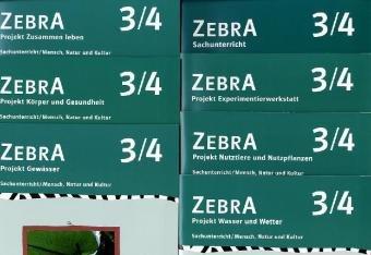 9783122708108: Zebra. Projekthefte für den Sachunterricht. Projektheft Paket A. 3./4. Schuljahr