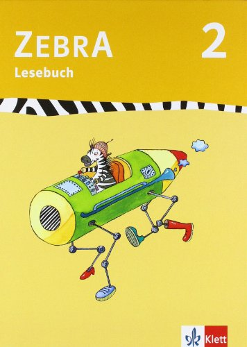 9783122708207: Zebra 2. Lesebuch 2. Schuljahr