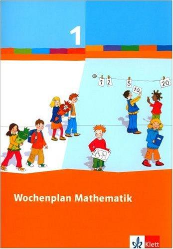9783122801151: Wochenplan Mathematik. Basispaket 1. Schuljahr: Baden-Württemberg, Berlin, Brandenburg, Bremen, Hamburg, Hessen, Mecklenburg-Vorpommern, ... Sachsen, Sachsen-Anhalt, Schleswig-Holstein