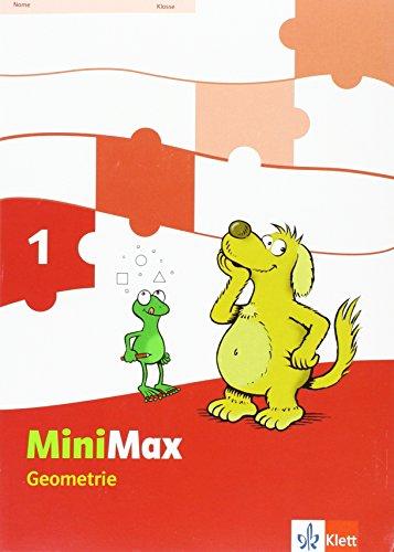 9783122805036: Mathematik MiniMax. Arbeitsheft Geometrie. 1. Schuljahr