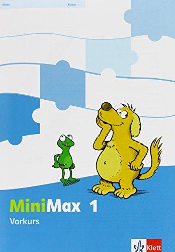 9783122805081: Mathematik Minimax. Vorkurs 1. Schuljahr