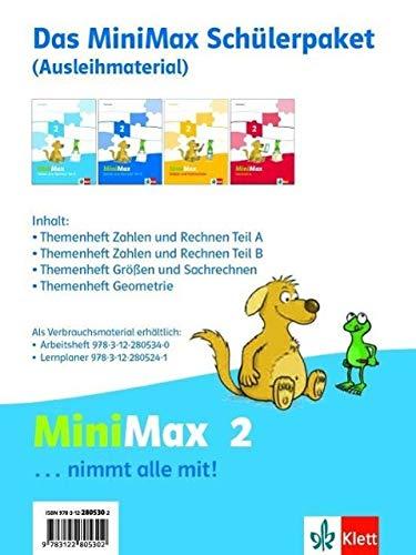 9783122805302: Mathematik Minimax. Schülerpaket 2. Schuljahr Ausleihmaterial