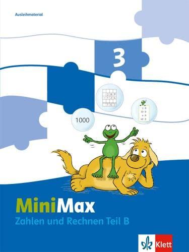 9783122805517: MiniMax. Themenheft Zahlen und Rechnen.3. Schuljahr Ausleihmaterial: 2 Hefte
