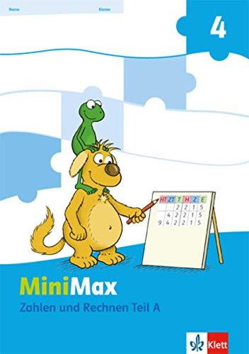 9783122805616: MiniMax. Themenheft Zahlen und Rechnen. 4.Schuljahr Verbrauchsmaterial. 2 Hefte