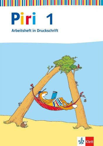9783123002014: Piri Silbenfibel. 1. Schuljahr. Arbeitsheft Druckschrift: Baden-Württemberg, Berlin, Bremen, Hamburg, Hessen, Niedersachsen, Nordrhein-Westfalen, Rheinland-Pfalz, Saarland,Schleswig-Holstein