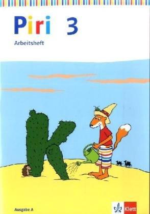 9783123002403: Piri Das Sprach-Lese-Buch. Arbeitsheft 3. Schuljahr