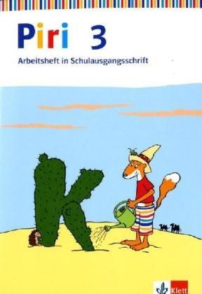 9783123002557: Piri Das Sprach-Lese-Buch. Arbeitsheft in Schulausgangsschrift 3. Schuljahr mit Lernsoftware zum Download. Ausgabe Ost