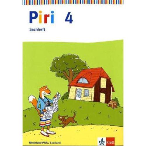 9783123003035: Piri Sachheft. Arbeitsheft 4. Schuljahr für Saarland, Rheinland-Pfalz