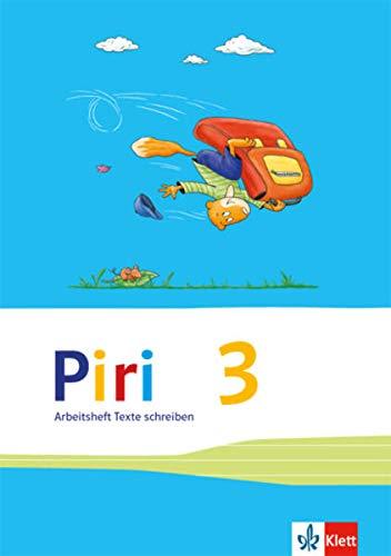 9783123004414: Piri Das Sprach-Lese-Buch. Arbeitsheft mit drei phänomenorientierte Einzelheften. Druckschrift 4. Schuljahr: 3 Hefte, Cover blau, gelb, rot