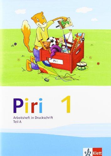9783123005411: Piri Fibel. Arbeitsheft in Druckschrift. Klasse 1: Teil A und B