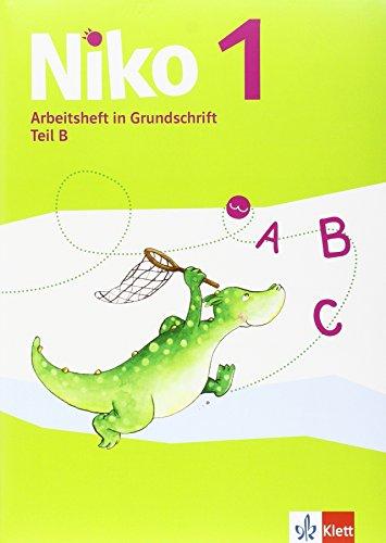 9783123105074: Niko. Arbeitshefte Grundschrift Teil A+B, Schreiblehrgang und Schreibtabelle 1. Schuljahr