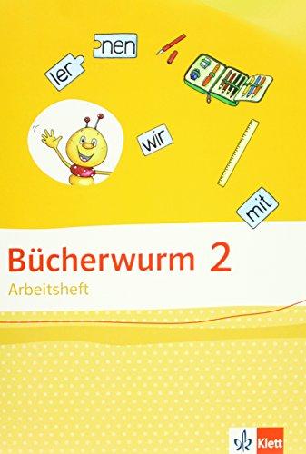 9783123107221: Bücherwurm Sprachbuch. Arbeitsheft 2. Schuljahr