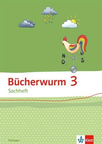 9783123108235: Bücherwurm Sachheft. Arbeitsheft 3. Schuljahr für Thüringen
