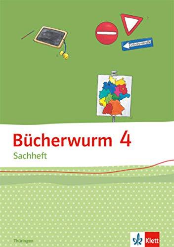 9783123108242: Bücherwurm Sachheft. Arbeitsheft 4. Schuljahr für Thüringen