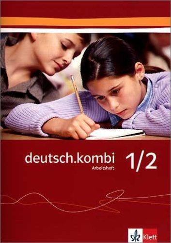 9783123131110: deutsch.kombi 1/2. Arbeitsheft zu Rechtschreibung / Grammatik